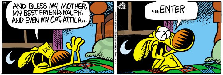 Comic Strip Mike Peters  Mother Goose and Grimm 2015-08-25 cat computer