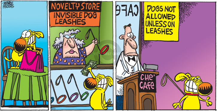 Cartoonist Mike Peters  Mother Goose and Grimm 2015-09-13 not allow