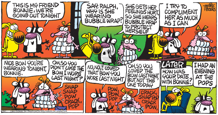 Comic Strip Mike Peters  Mother Goose and Grimm 2015-09-27 snap