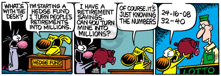 Comic Strip Mike Peters  Mother Goose and Grimm 2015-11-03 number