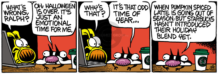Comic Strip Mike Peters  Mother Goose and Grimm 2015-11-04 drink