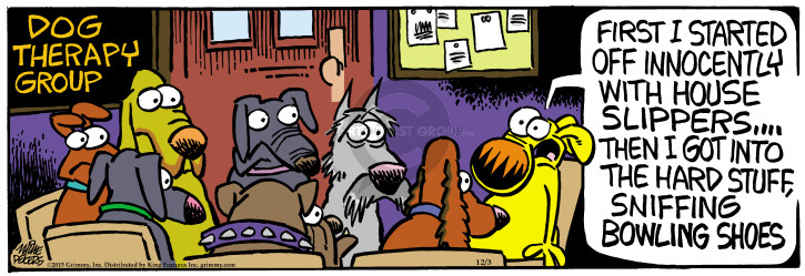 Comic Strip Mike Peters  Mother Goose and Grimm 2015-12-03 start