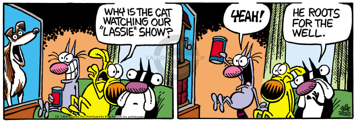 Comic Strip Mike Peters  Mother Goose and Grimm 2016-01-04 fall