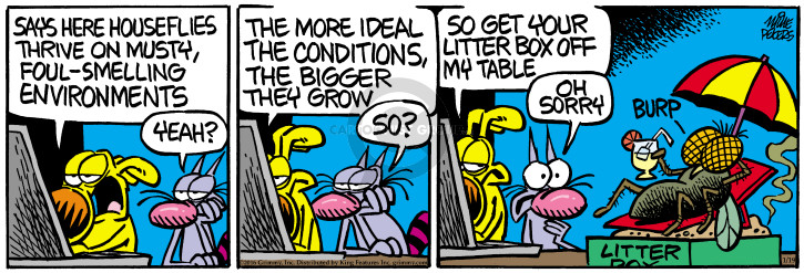 Cartoonist Mike Peters  Mother Goose and Grimm 2016-01-19 grow