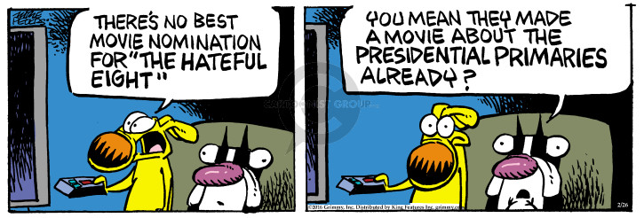 Comic Strip Mike Peters  Mother Goose and Grimm 2016-02-26 movie
