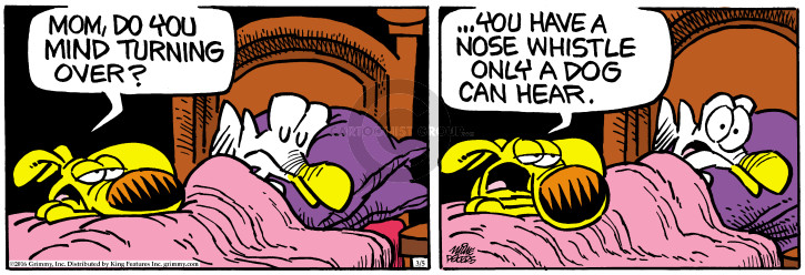 Comic Strip Mike Peters  Mother Goose and Grimm 2016-03-05 nose