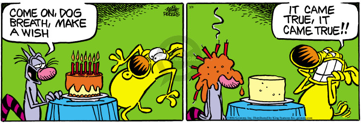 Cartoonist Mike Peters  Mother Goose and Grimm 2016-03-09 breath