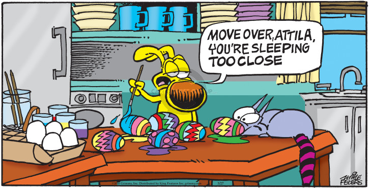 Comic Strip Mike Peters  Mother Goose and Grimm 2016-03-27 egg