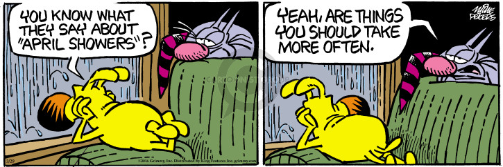 Comic Strip Mike Peters  Mother Goose and Grimm 2016-03-29 grooming