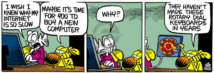 Comic Strip Mike Peters  Mother Goose and Grimm 2016-04-14 electronics