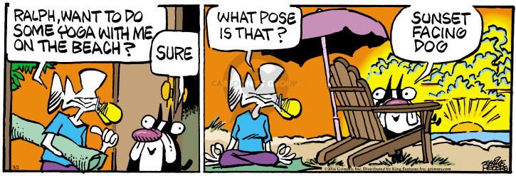 Cartoonist Mike Peters  Mother Goose and Grimm 2016-05-02 exercise