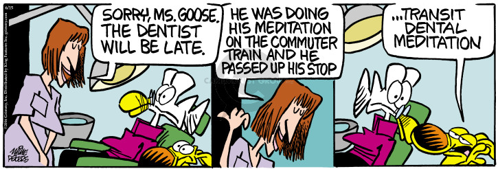 Comic Strip Mike Peters  Mother Goose and Grimm 2016-06-15 late