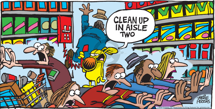 Comic Strip Mike Peters  Mother Goose and Grimm 2016-07-24 clean