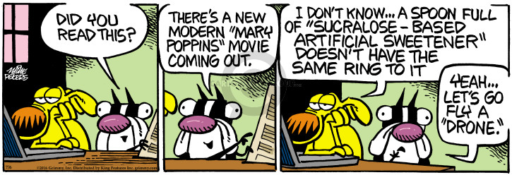 Cartoonist Mike Peters  Mother Goose and Grimm 2016-07-06 read