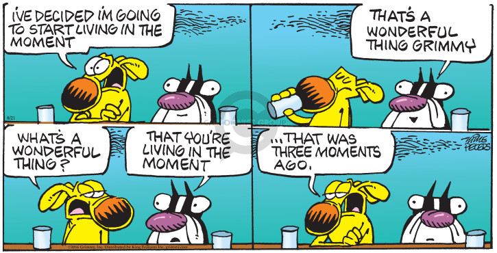 Comic Strip Mike Peters  Mother Goose and Grimm 2016-08-21 start