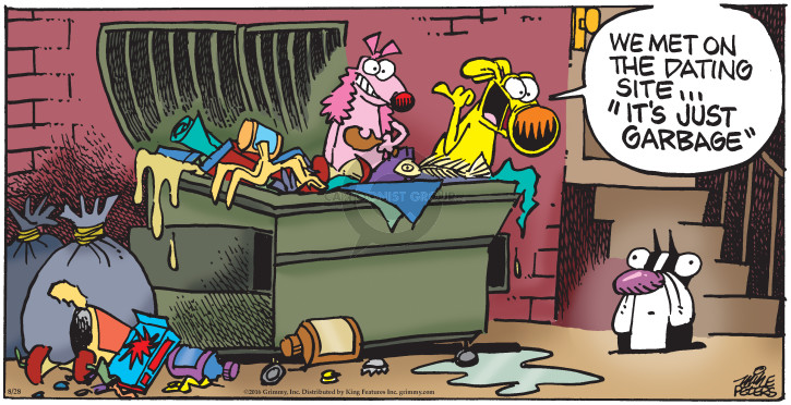 Cartoonist Mike Peters  Mother Goose and Grimm 2016-08-28 website