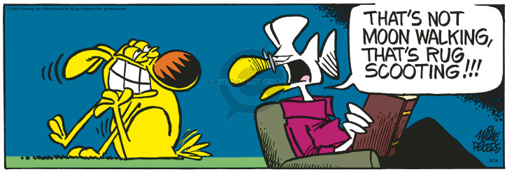 Comic Strip Mike Peters  Mother Goose and Grimm 2016-08-24 end