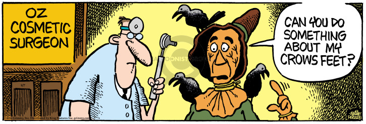 Cartoonist Mike Peters  Mother Goose and Grimm 2016-09-07 wizard