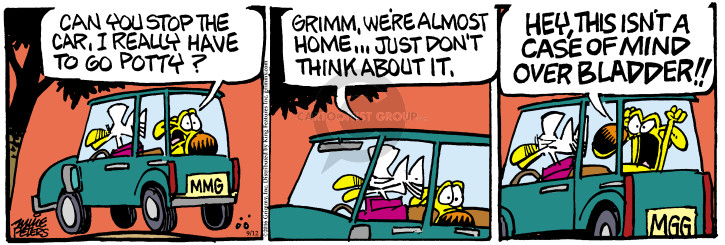 Comic Strip Mike Peters  Mother Goose and Grimm 2016-09-12 case