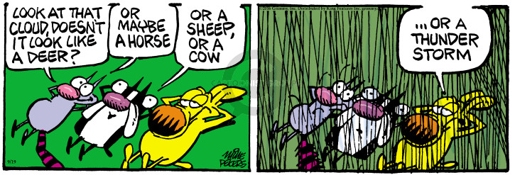 Comic Strip Mike Peters  Mother Goose and Grimm 2016-09-19 appearance