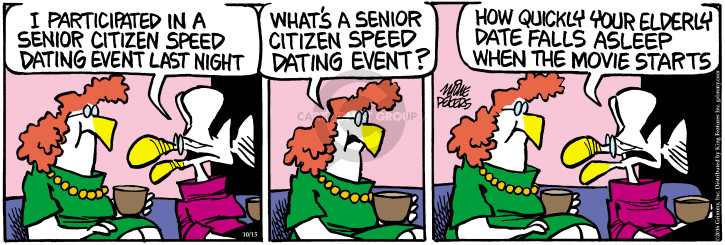 Comic Strip Mike Peters  Mother Goose and Grimm 2016-10-15 start