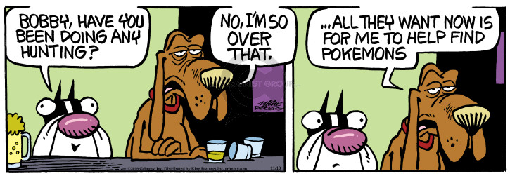 Comic Strip Mike Peters  Mother Goose and Grimm 2016-11-10 find