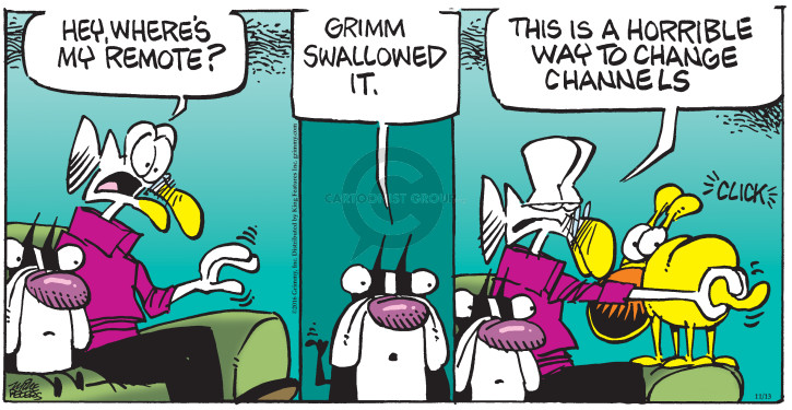 Comic Strip Mike Peters  Mother Goose and Grimm 2016-11-13 change