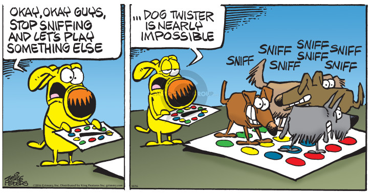 Comic Strip Mike Peters  Mother Goose and Grimm 2016-10-16 sniff