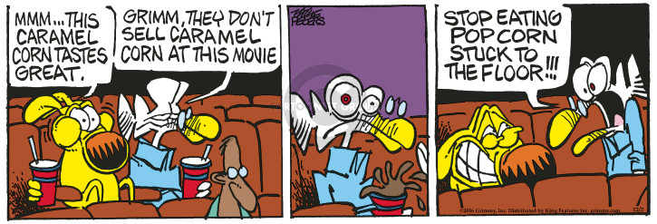 Comic Strip Mike Peters  Mother Goose and Grimm 2016-12-02 movie theater
