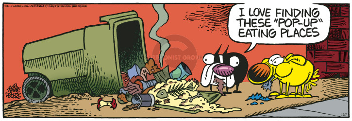 Comic Strip Mike Peters  Mother Goose and Grimm 2016-12-07 find