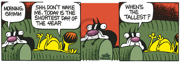Comic Strip Mike Peters  Mother Goose and Grimm 2016-12-21 morning