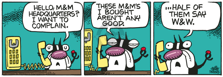 Comic Strip Mike Peters  Mother Goose and Grimm 2017-01-31 aren't