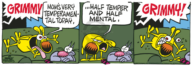 Comic Strip Mike Peters  Mother Goose and Grimm 2017-03-01 half