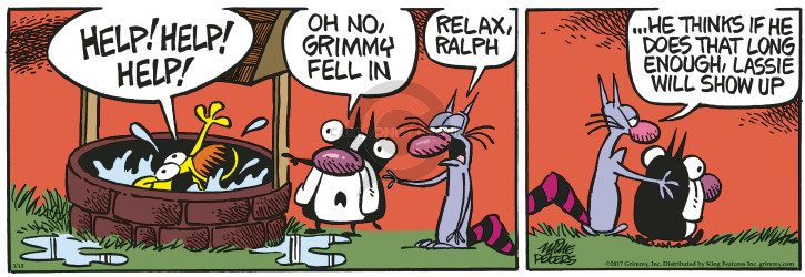 Comic Strip Mike Peters  Mother Goose and Grimm 0000-00-00 relax
