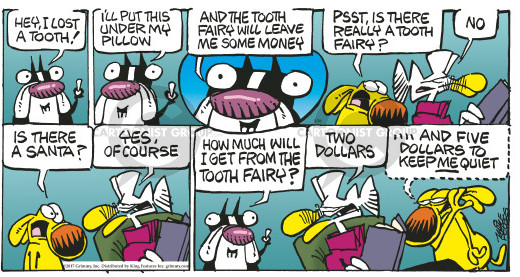 Comic Strip Mike Peters  Mother Goose and Grimm 2017-03-26 leave