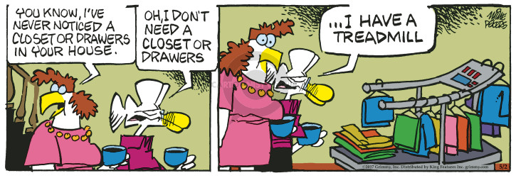 Comic Strip Mike Peters  Mother Goose and Grimm 2017-05-02 fitness