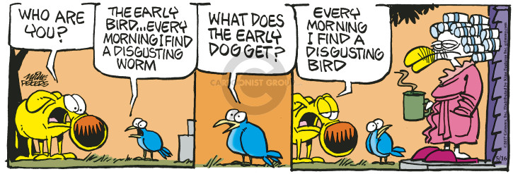Comic Strip Mike Peters  Mother Goose and Grimm 2017-05-16 morning