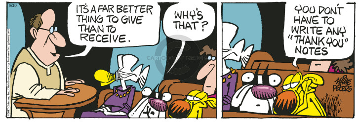 Comic Strip Mike Peters  Mother Goose and Grimm 2017-05-20 write