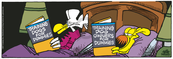 Comic Strip Mike Peters  Mother Goose and Grimm 2017-05-26 owner