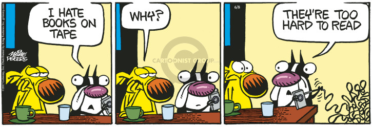 Comic Strip Mike Peters  Mother Goose and Grimm 2017-06-08 hard