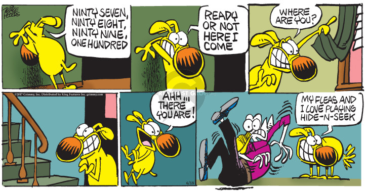 Comic Strip Mike Peters  Mother Goose and Grimm 2017-06-18 love