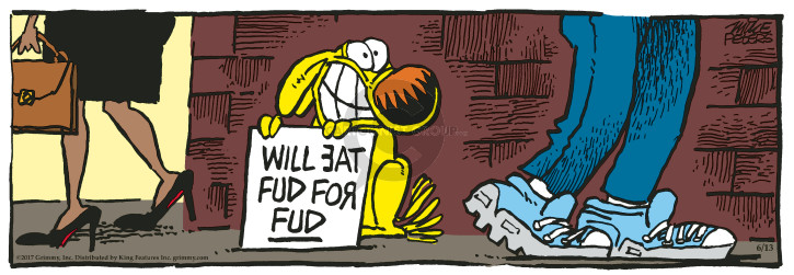 Will eat fud for fud.