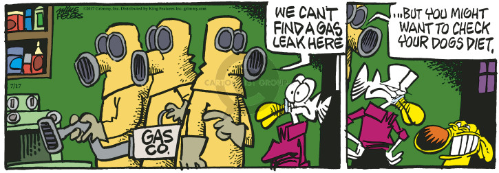 Cartoonist Mike Peters  Mother Goose and Grimm 2017-07-17 check