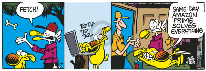 Comic Strip Mike Peters  Mother Goose and Grimm 2017-07-18 fast
