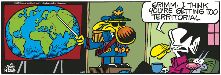 Comic Strip Mike Peters  Mother Goose and Grimm 2017-07-28 general