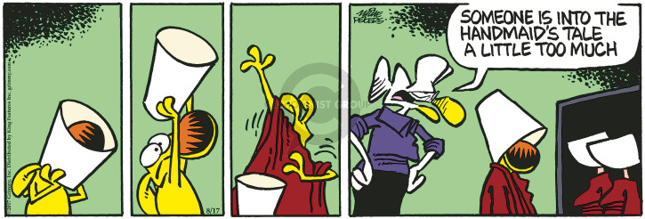 Comic Strip Mike Peters  Mother Goose and Grimm 2017-08-17 into