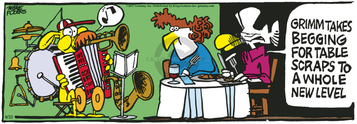 Comic Strip Mike Peters  Mother Goose and Grimm 2017-08-22 whole