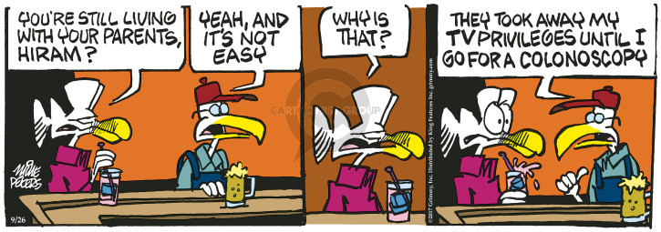 Comic Strip Mike Peters  Mother Goose and Grimm 2017-09-26 yeah
