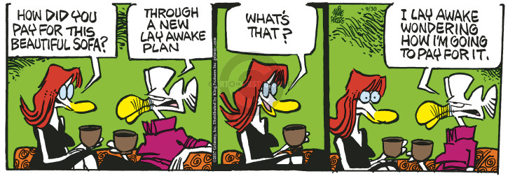 Comic Strip Mike Peters  Mother Goose and Grimm 2017-09-30 plan