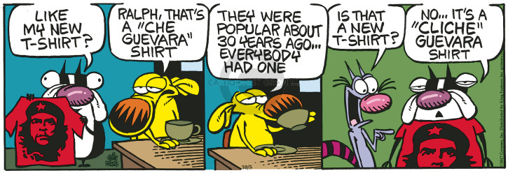 Comic Strip Mike Peters  Mother Goose and Grimm 2017-10-05 tee